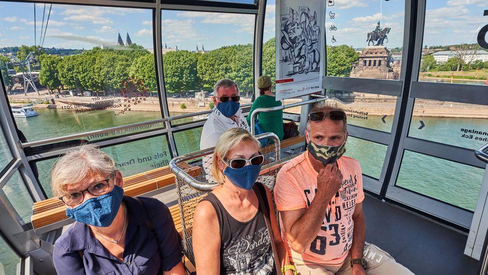 Seilbahn Koblenz fährt wieder