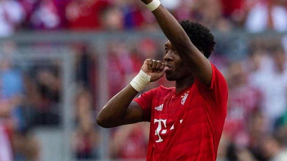 David Alaba vom FC Bayern München. Foto: Lino Mirgeler/Archivbild