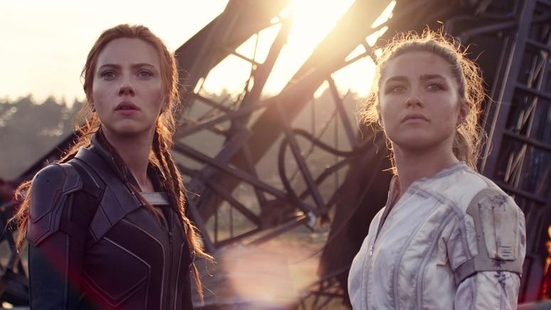 """Scarlett Johansson und Florence Pugh in """"Black Widow"""""""