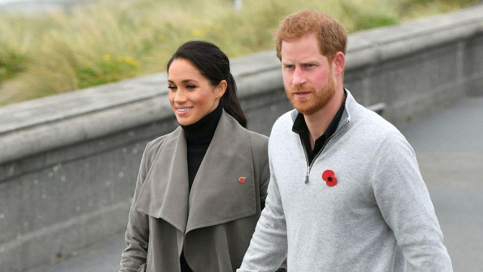 Prinz Harry und Herzogin Meghan verabschieden sich auf ihrem Instagram-Profil und lassen alle Kommentare löschen.