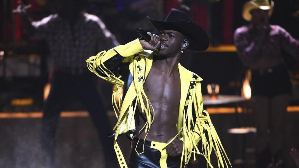 Lil Nas X bei den BET Awards in Los Angeles. Foto: Chris Pizzello/Invision/dpa