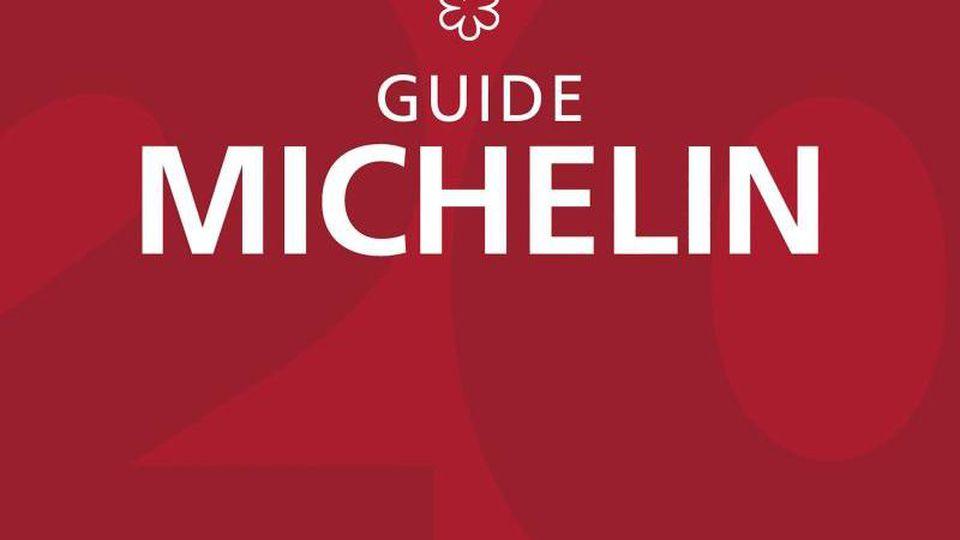 Das Cover des am Freitag vorgestellten Guide Michelin 2021 für Deutschland. Foto: Michelin/dpa