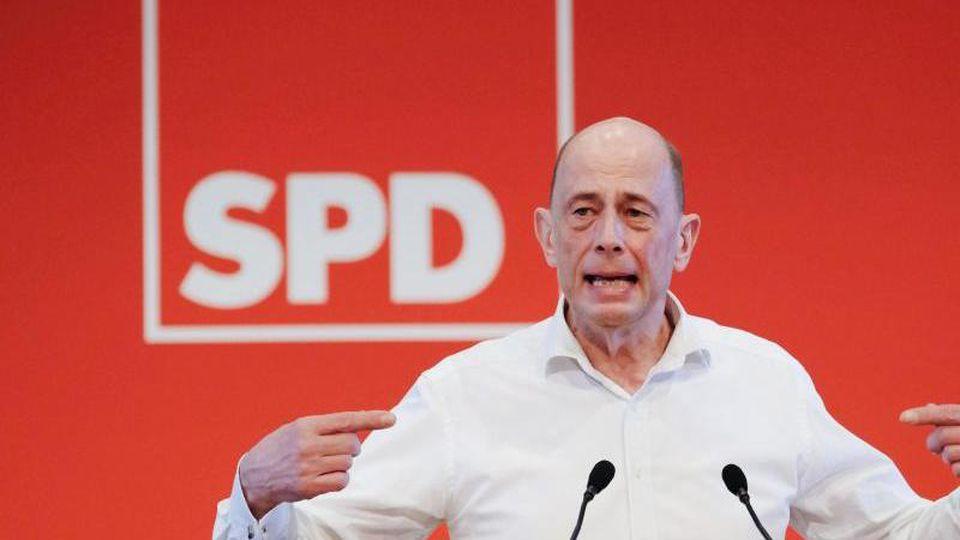 Thüringens SPD-Vorsitzender Wolfgang Tiefensee. Foto: Sebastian Willnow