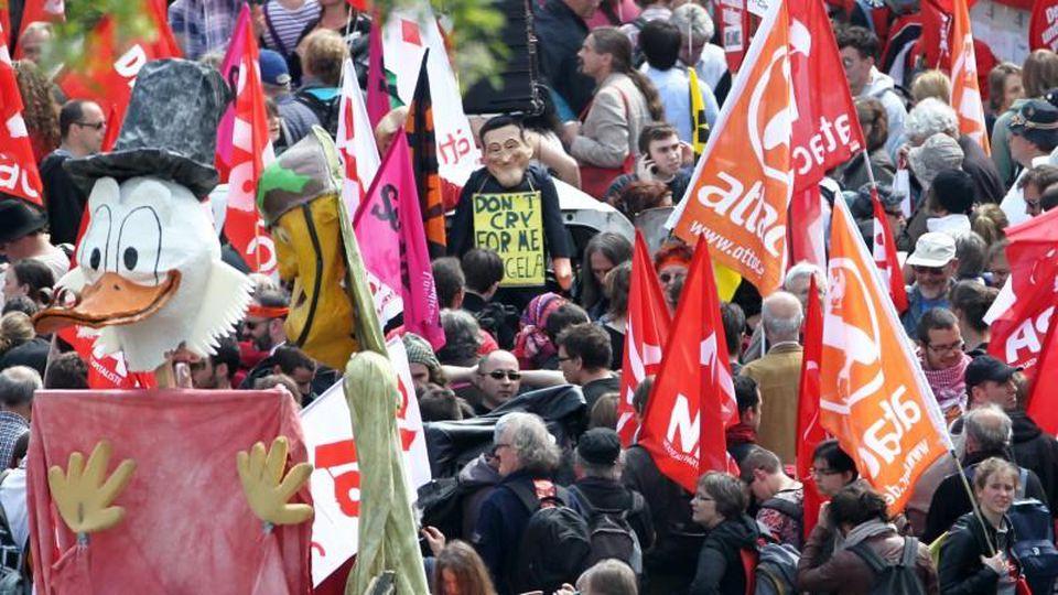 Blockupy, Protest, Frankfurt