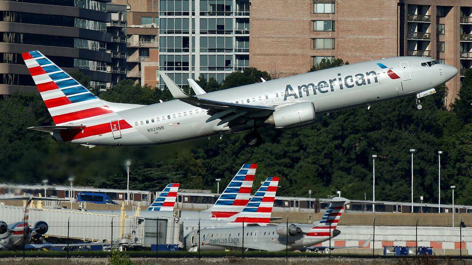 Die Maschine der American Airlines musste im irischen Dublin notlanden.