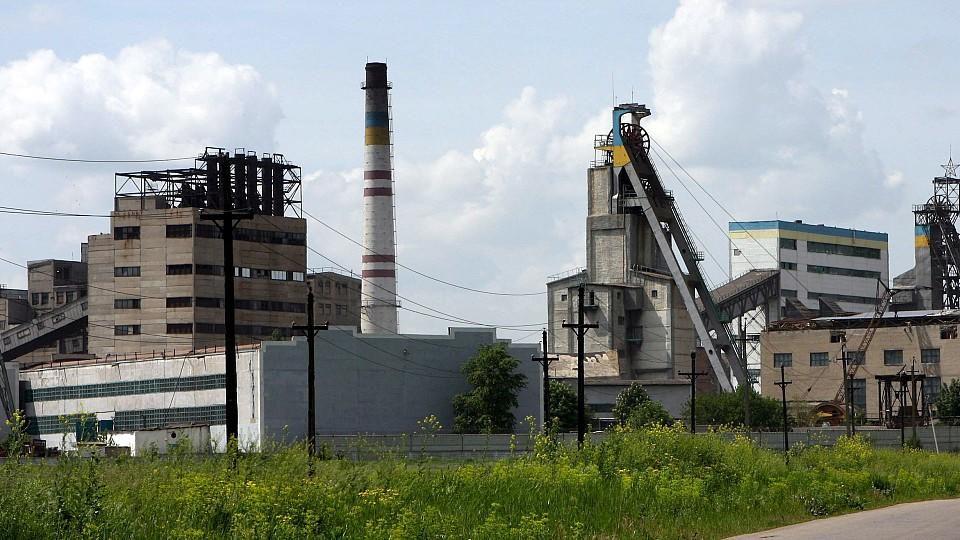 Kohleabbau in der Ostukraine