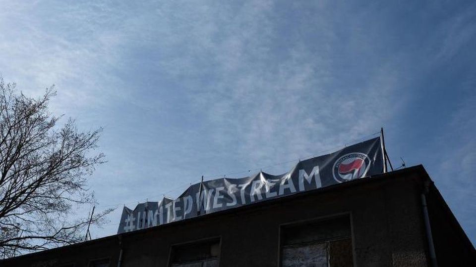 """United We Stream"": Der Club About Blank, ein alternativer Techno-Club in Berlin. Foto: Jens Kalaene/dpa-Zentralbild/dpa"