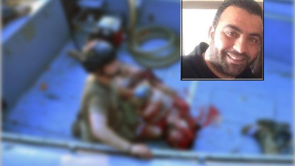 Das Foto der von Ameen Zahids Rettung wurde bearbeitet, da es möglicherweise verstören könnte