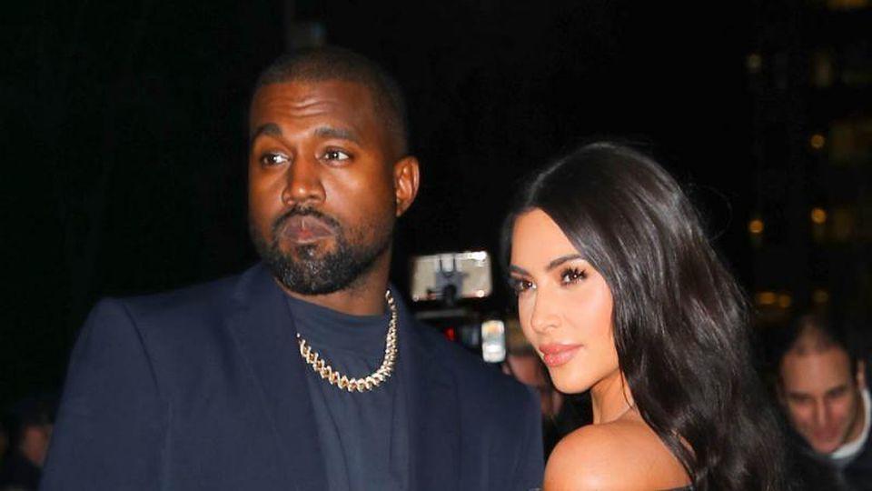 Kim Kardashian West und Kanye West
