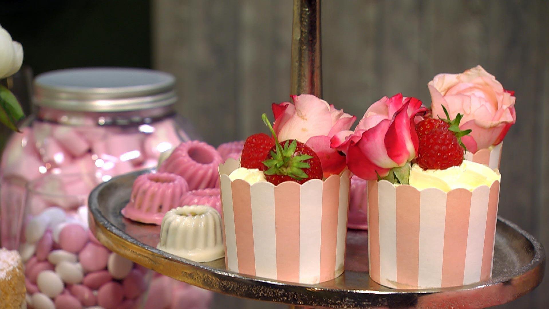 Sweet Table – das zuckersüße Buffet für den besonderen Anlass: Rübli-Cupcakes