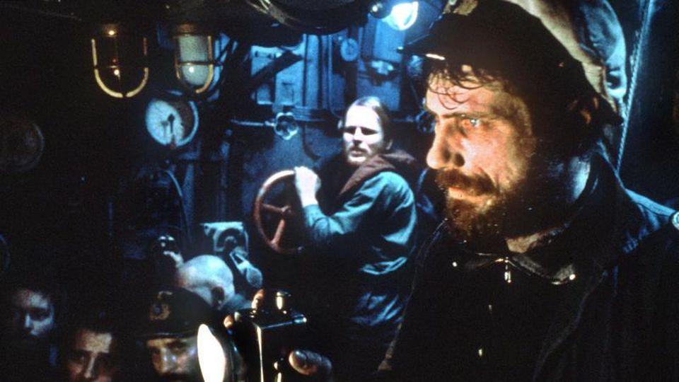 """Eine Szene aus dem Film """"Das Boot"""" mit Herbert Grönemeyer und Jürgen Prochnow (l-r). Foto: picture alliance/dpa/dpa/Archivbild"""
