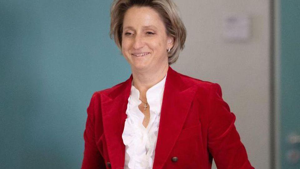 Nicole Hoffmeister-Kraut (CDU), Wirtschafts- und Arbeitsministerin in Baden-Württemberg. Foto: Marijan Murat/dpa