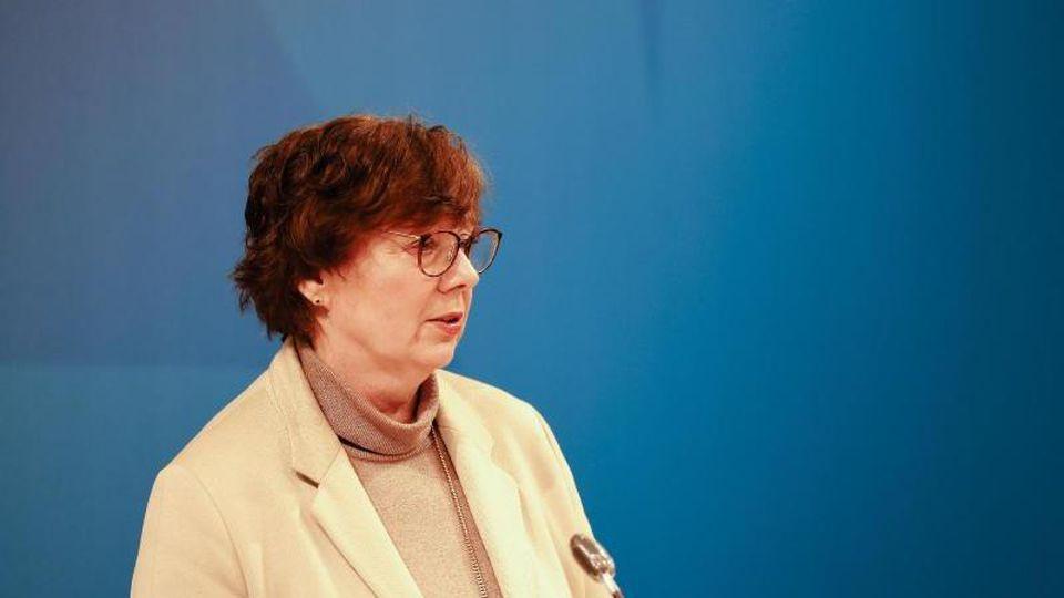 Schleswig-Holsteins Innenministerin Sabine Sütterlin-Waack (CDU). Foto: Frank Molter/dpa/Archivbild