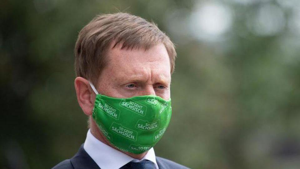 Michael Kretschmer (CDU), Ministerpräsident von Sachsen. Foto: Sebastian Kahnert/dpa-Zentralbild/dpa