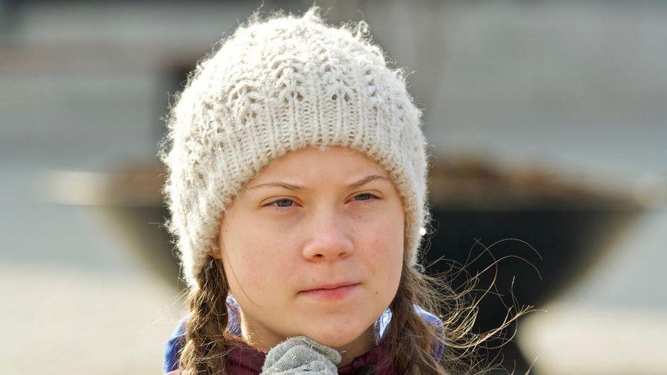 Greta Thunberg lehnt wegen der vielen Treibhausgase das Fliegen ab