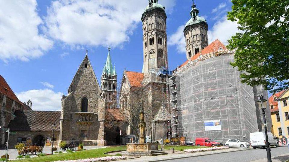 Blick auf den Dom St. Peter und Paul in Naumburg. Foto: Hendrik Schmidt/dpa-Zentralbild/ZB/Archivbild