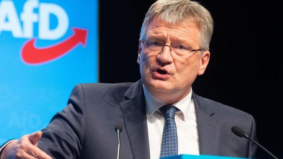 Der AfD-Vorsitzende Jörg Meuthen denkt laut über eine Aufspaltung der Rechtspopulisten nach. Foto: Hauke-Christian Dittrich/dpa
