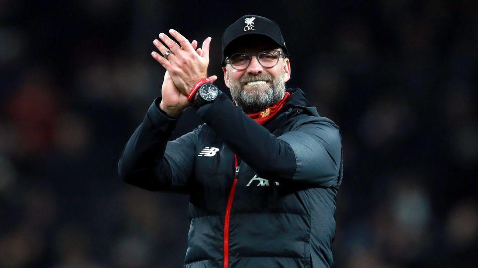 Jürgen Klopp feiert den nächsten Sieg mit dem FC Liverpool