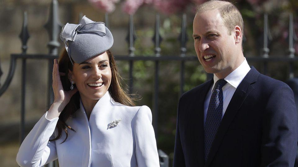 William und Kate haben nichts von dem Unfall mitbekommen