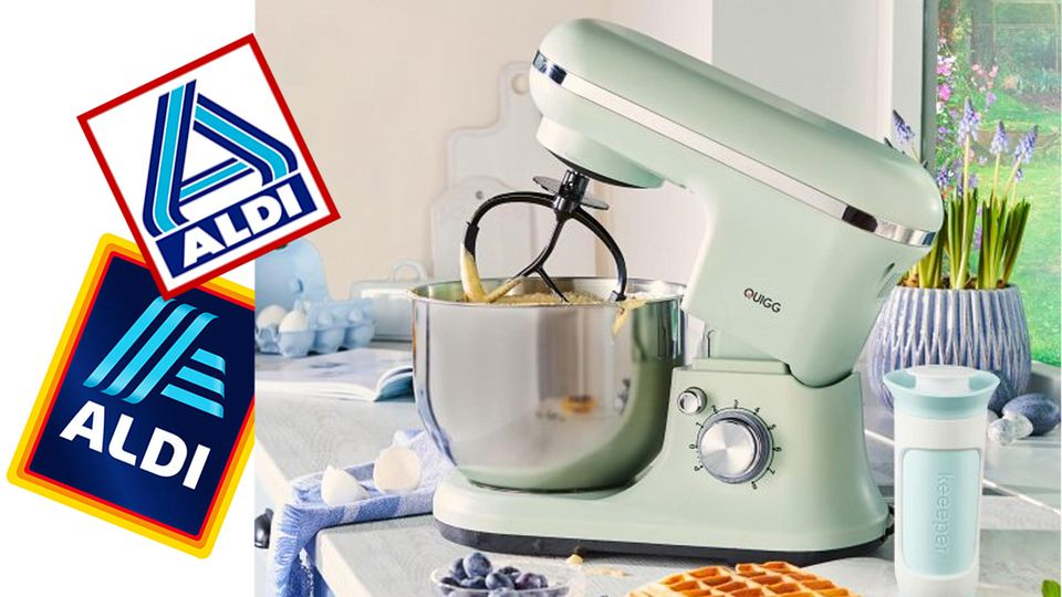 Aldi bringt Retro-Küchenmaschine