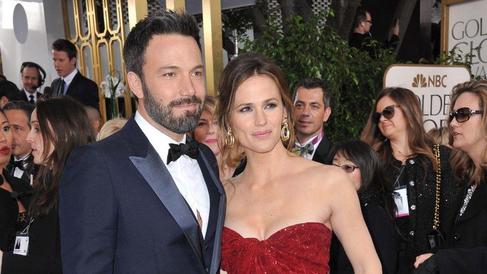 Ben Affleck und Jennifer Garner damals noch verheiratet bei den Golden Globe Awards 2013