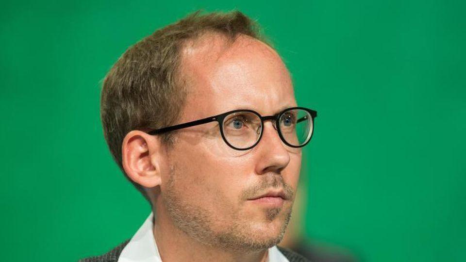Kai Klose, Vorsitzender der hessischen Grünen. Foto: Bernd Thissen/Archiv