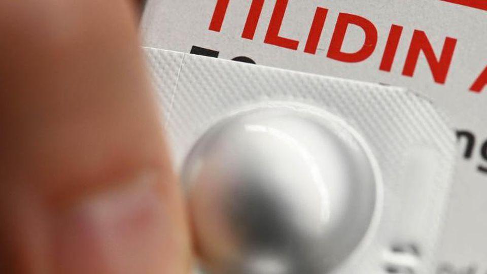 """In der Rapszene gilt """"Tilidin"""" als Lifestyledroge. Jugendliche sollten die Suchtgefahr aber nicht unterschätzen. Foto: Uli Deck/dpa"""
