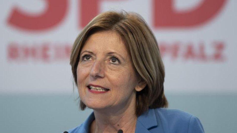 Malu Dreyer, Ministerpräsidentin von Rheinland-Pfalz. Foto: Boris Roessler/dpa