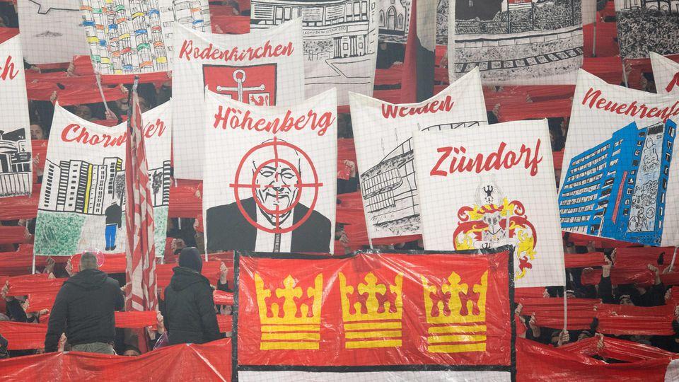 1. FC Köln Fans Fadenkreuz