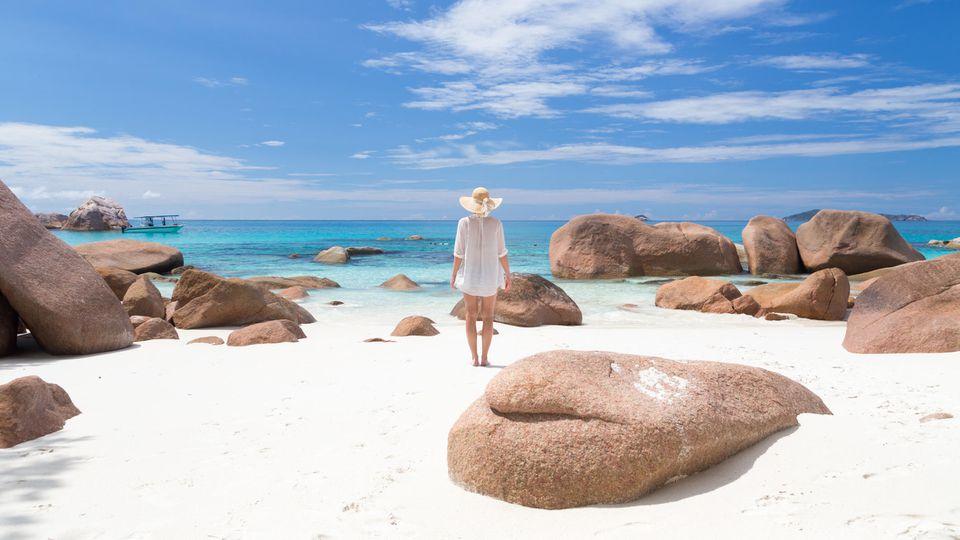 Weiße Sandstrände, türkisfarbenes Meer und eine faszinierende Flora und Fauna - die Seychellen sind ein Ort der Sehnsucht.