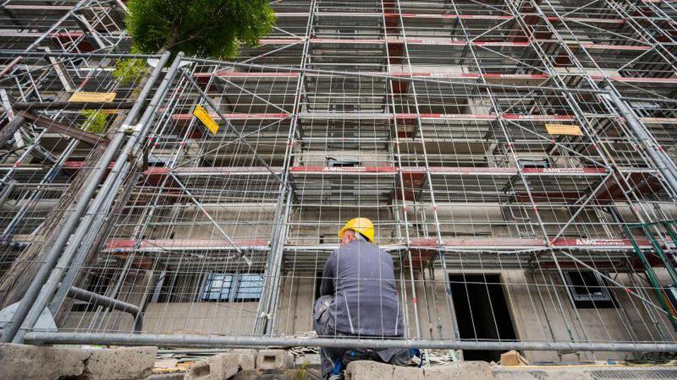 Die Baubranche kann ihr hohes Tempo nach Monaten boomender Geschäfte nicht halten. Foto: Andreas Arnold