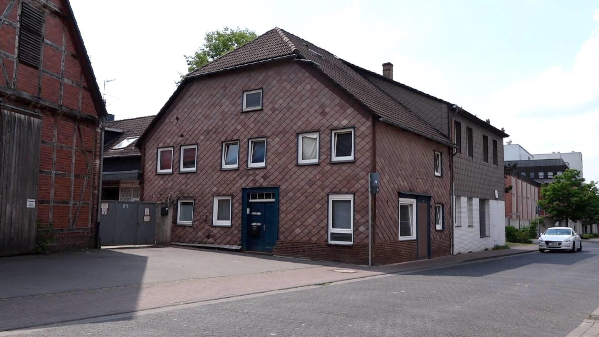 Das 14-Jährige Mädchen wurde tagelang in diesem Haus gefangen gehalten.