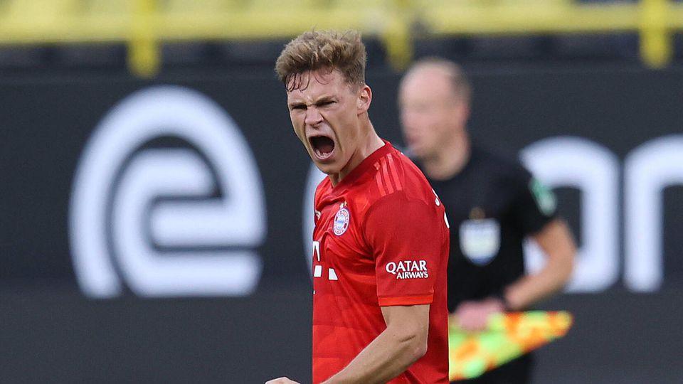 Fussball: 1. Bundesliga: Saison 19/20: 28. Spieltag, 26.05.2020, BVB,Borussia Dortmund - FC Bayern München, Jubel, Schl