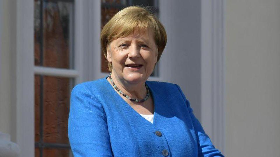Bundeskanzlerin Angela Merkel (CDU). Foto: Tobias Schwarz/AFP pool/dpa