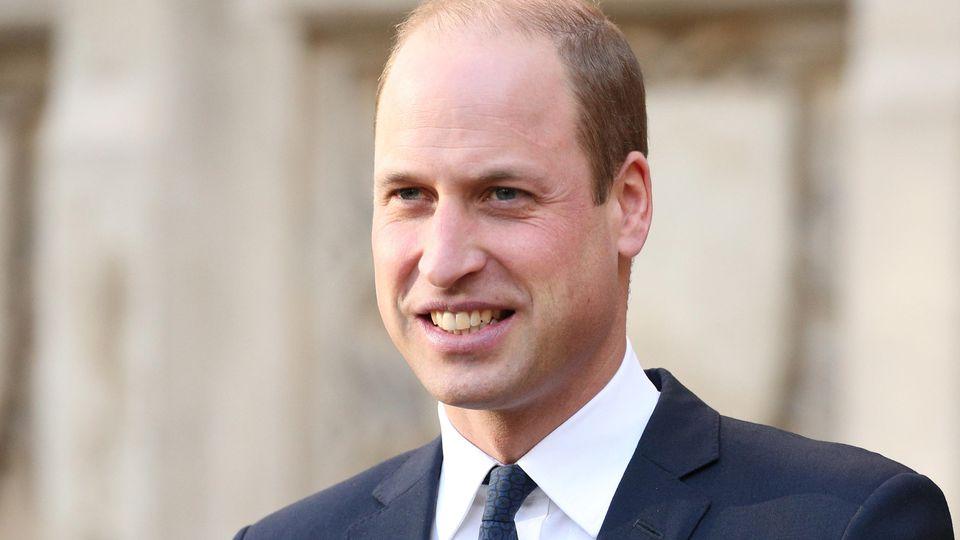 Prinz William arbeitet ehrenamtlich und berät Menschen in Not