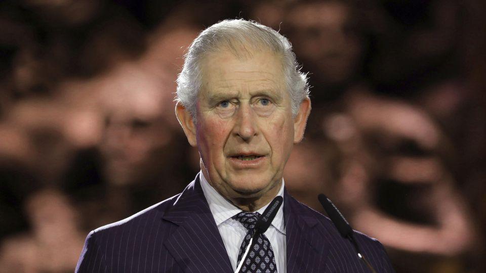 Prinz Charles bei der Holocaust-Gedenkfeier in Israel.