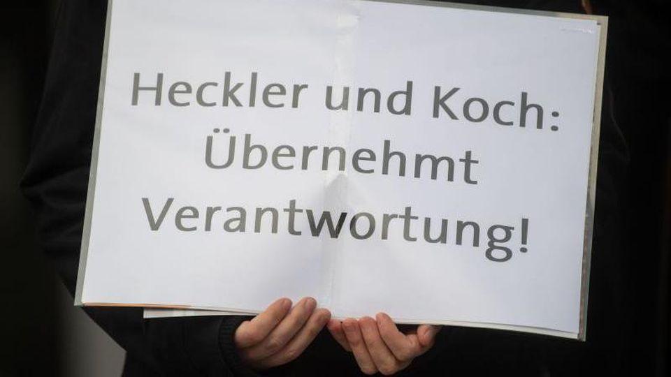 Von Heckler & Koch sollen 3,7 Millionen Euro eingezogen werden. Foto: Marijan Murat
