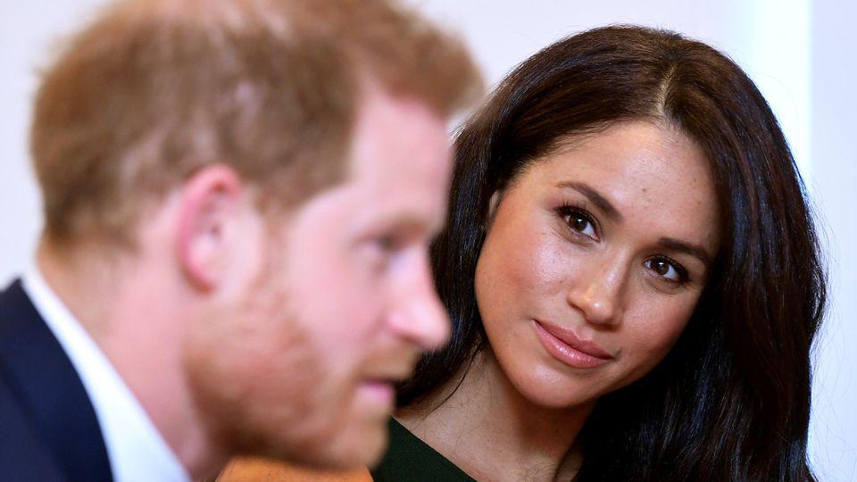 Ab dem 1. April keine Senior-Royals mehr: Herzogin Meghan und Prinz Harry