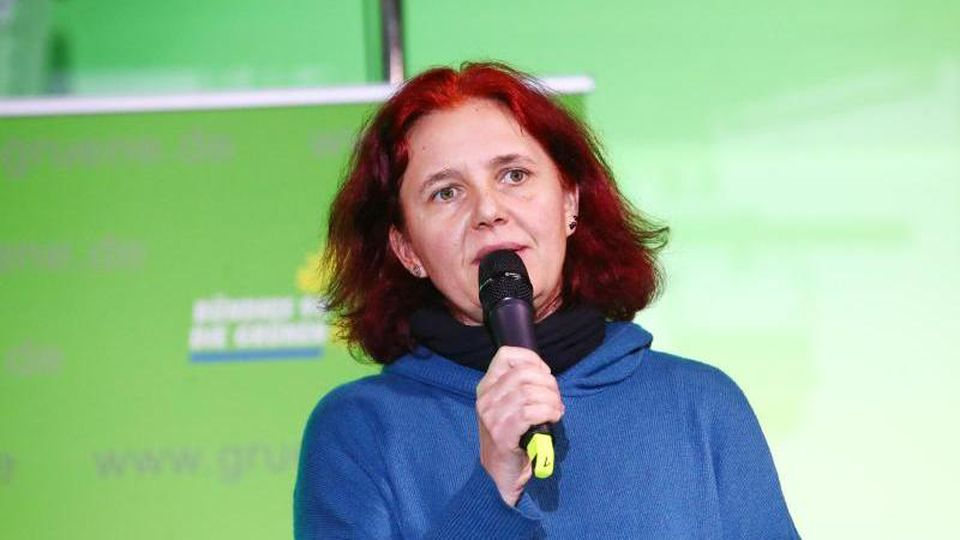 Die parlamentarische Geschäftsführerin der Grünen-Fraktion, Astrid Rothe-Beinlich. Foto: Bodo Schackow/Archiv