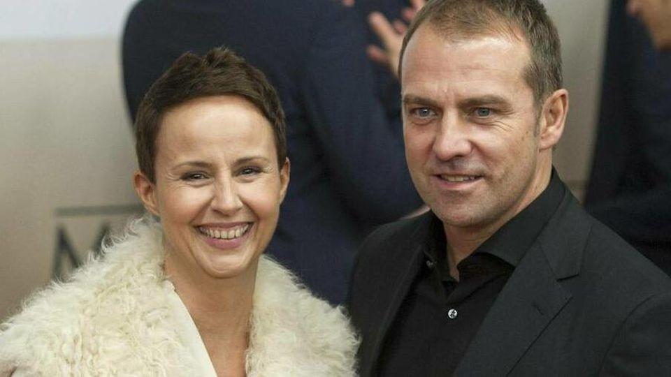 Hansi Flick mit seiner Ehefrau Silke