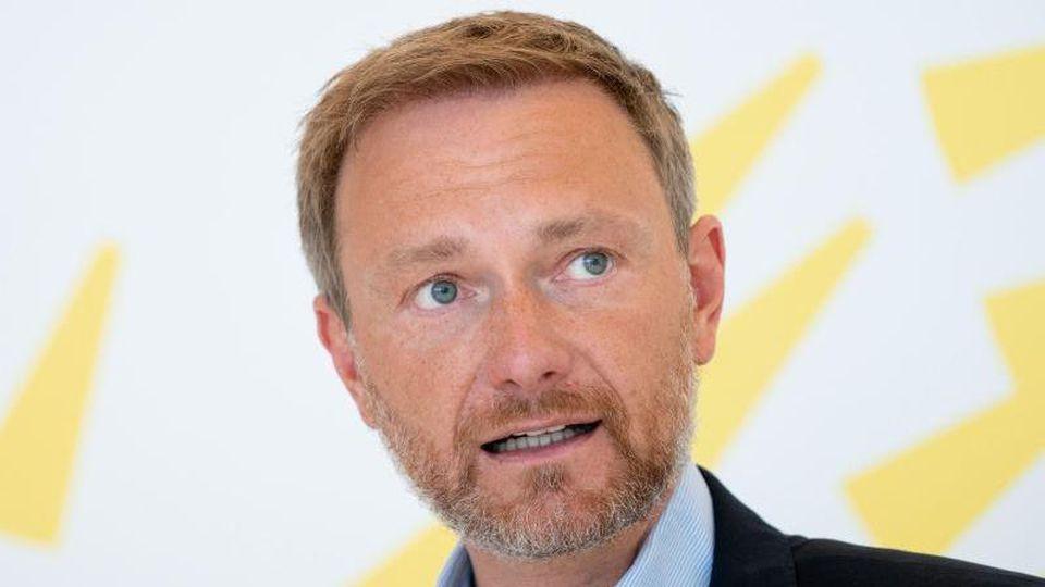 Christian Lindner, Fraktionsvorsitzender und Parteivorsitzender der FDP. Foto: Kay Nietfeld/dpa/Archivbild