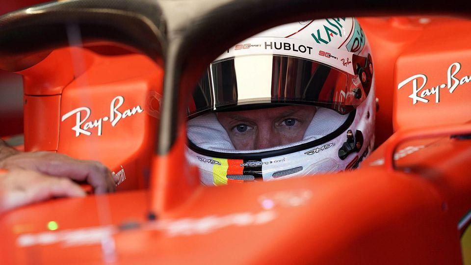Bei Sebastian Vettel und Ferrari geht es nicht vorwärts