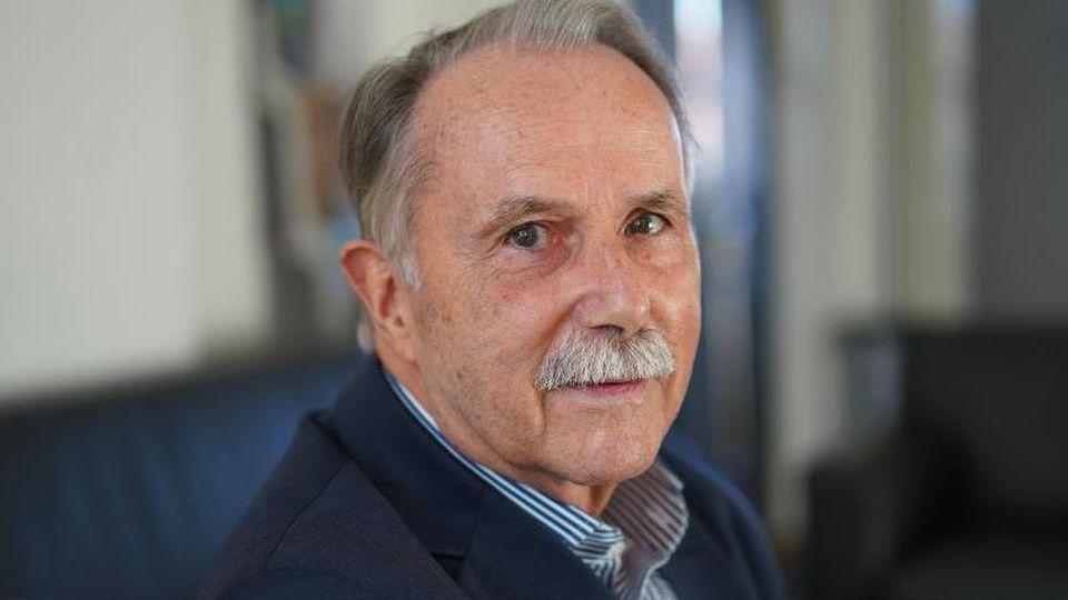Klaus-Dieter Lehmann, Präsident des Goethe-Instituts, aufgenommen im Rahmen eines dpa-Interviews. Foto: Jörg Carstensen/dpa/Archivbild