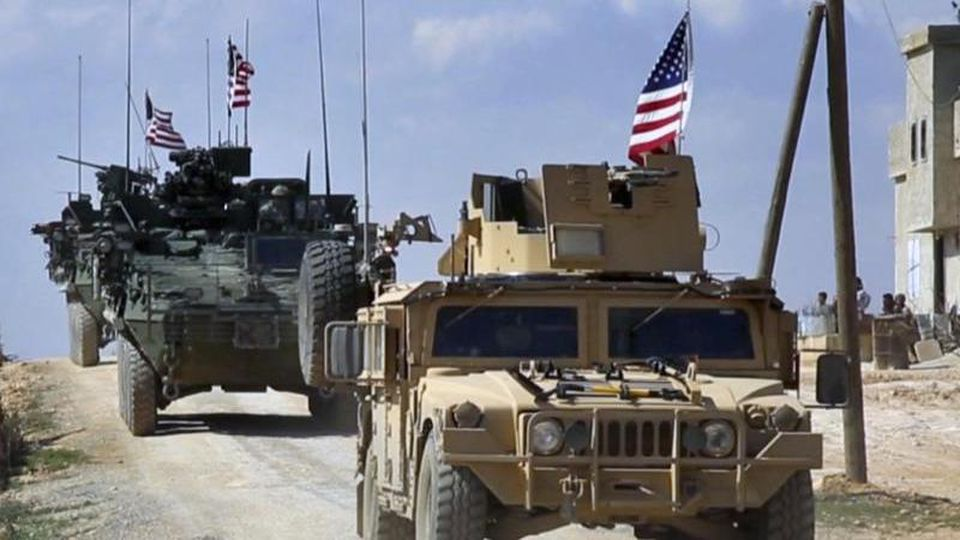 US-Truppen im syrischen Manbij. Foto: Arab 24 network/AP