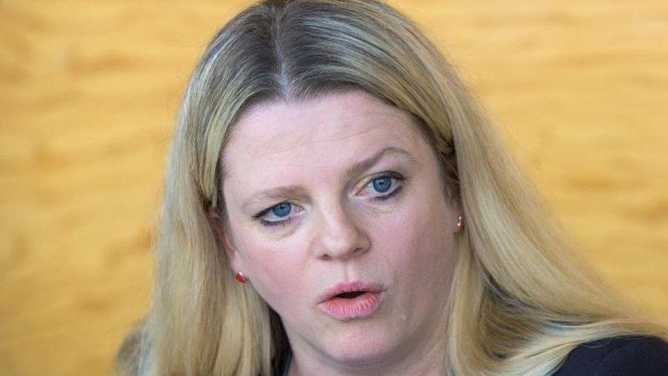 Linke-Politikerin Susanne Schaper. Foto: Oliver Killig/zb/dpa/Archivbild