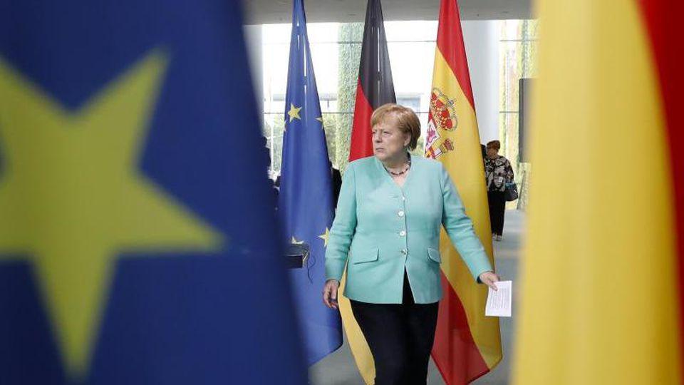 Bundeskanzlerin Angela Merkel. Bis Ende des Jahres hat Deutschland die EU-Ratspräsidentschaft inne. Foto: Markus Schreiber/AP POOL/dpa