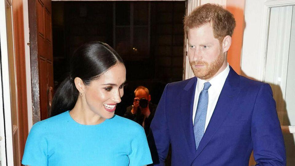Meghan und Harry haben ihre Pflichten als Senior-Royals abgelegt.