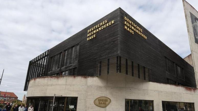 Das Deutsche Auswandererhaus in Bremerhaven. Foto: Carmen Jaspersen/dpa/Archiv