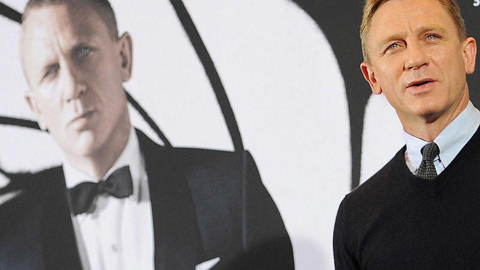 Daniel Craig ist der sechste Schauspieler, der den britischen Geheimagenten James Bond spielt.