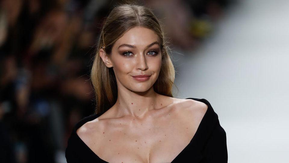 Model Gigi Hadid freut sich über ihr Laufsteg-Comeback.